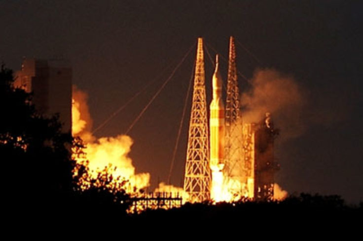 Orion test launch