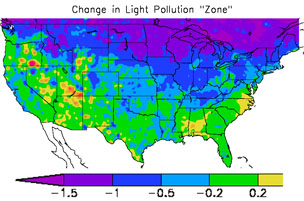 Corrected Light-Pollution Atlas - Sky & Telescope