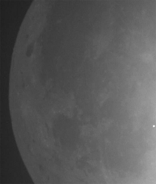 Lunar impact flash