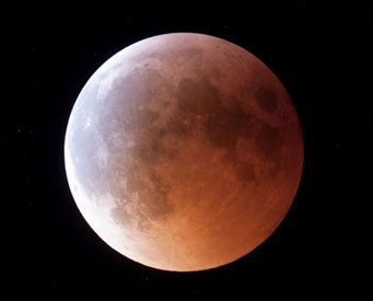 lunar eclipse june 15, 2011, from Romania