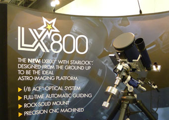 Meade LX800 demo at PATS 2011