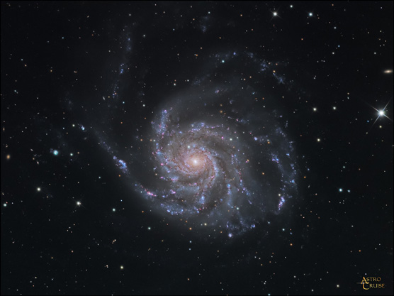 Messier 101, the Pinwheel Galaxy