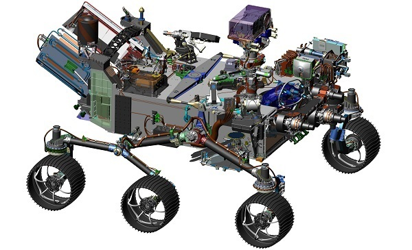 Mars 2020 Rover Construction Moves Ahead - Sky & Telescope