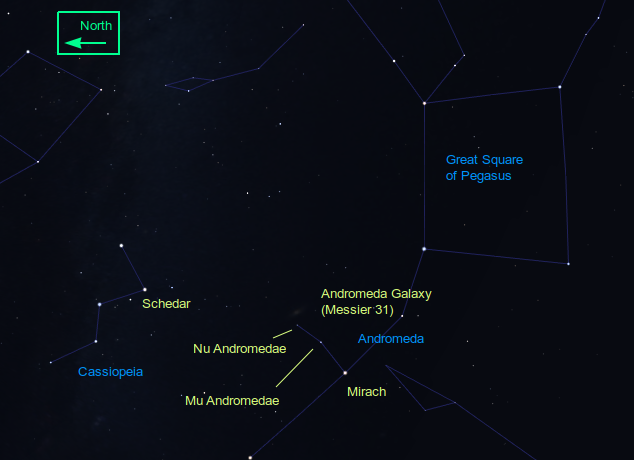 How to find M31
