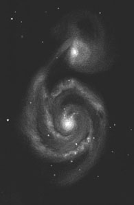Messier 51, the Whirlpool Galaxy