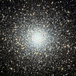 Globular cluster Messier 5 is about 25,000 light-years away in Serpens. Among its hundreds of thousands of stars is at least one millisecond pulsar — possibly one of the most massive neutron stars in our galaxy.