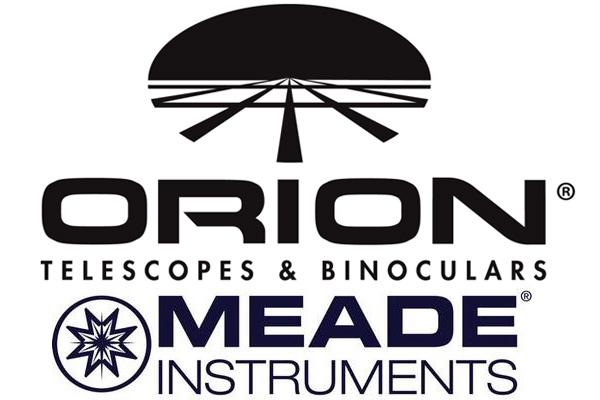 Meade, Orion logos