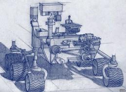 Artist's rendering of Mars 2020 rover. NASA/JPL-Caltech