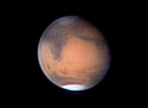 Mars on March 3, 2010