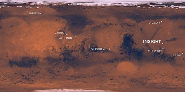 Mars Insight landing site
