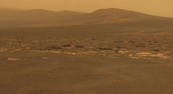 The West Rim of Endeavour Crater