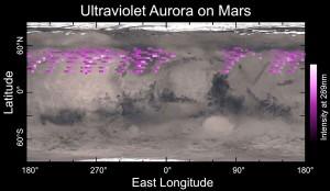 aurora on Mars