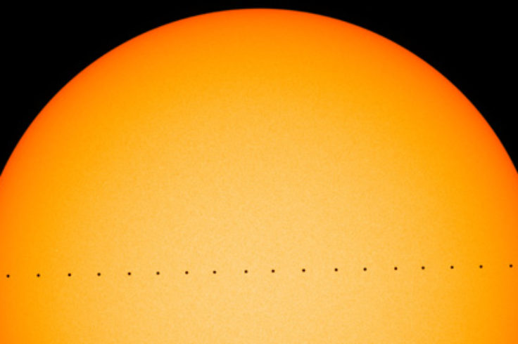 Transit of Mercury 2019 (composite)