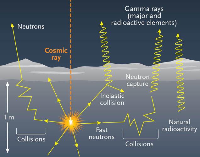Neutron interactions on Ceres