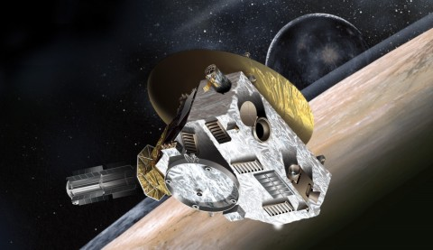 Artist's conception of New Horizons.NASA