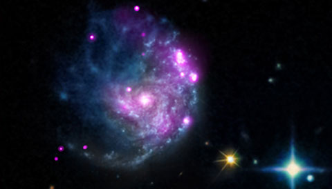 NASA's Chandra Finds Potential Mid-Size Black Hole