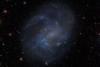 Dwarf galaxy NGC 4395