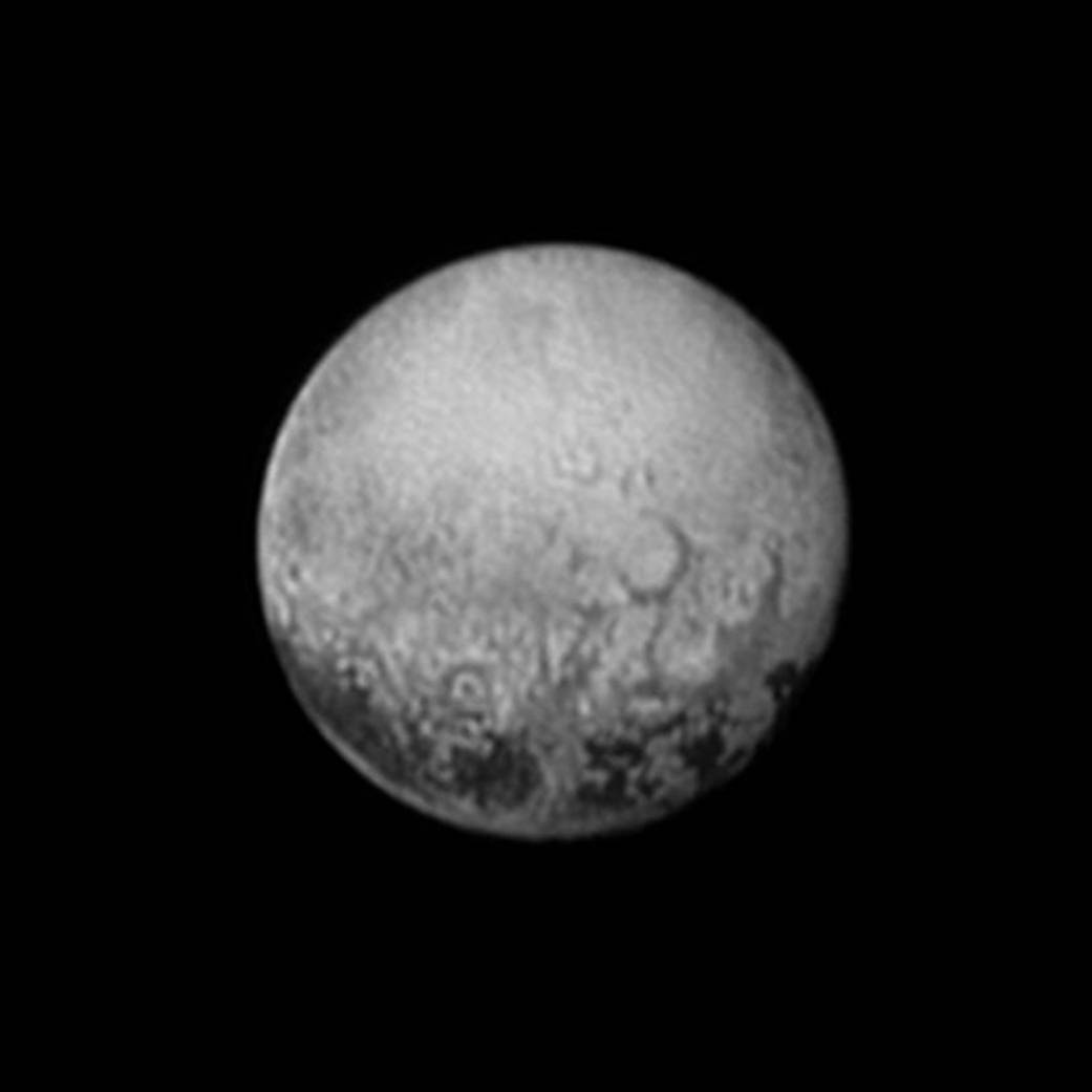 New Horizons' last look at Pluto's Charon-facing hemisphere
