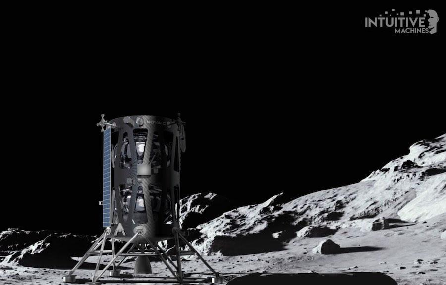 Intuitive Machines lunar lander