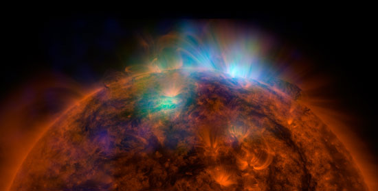 The Sun in NuSTAR's X-ray vision