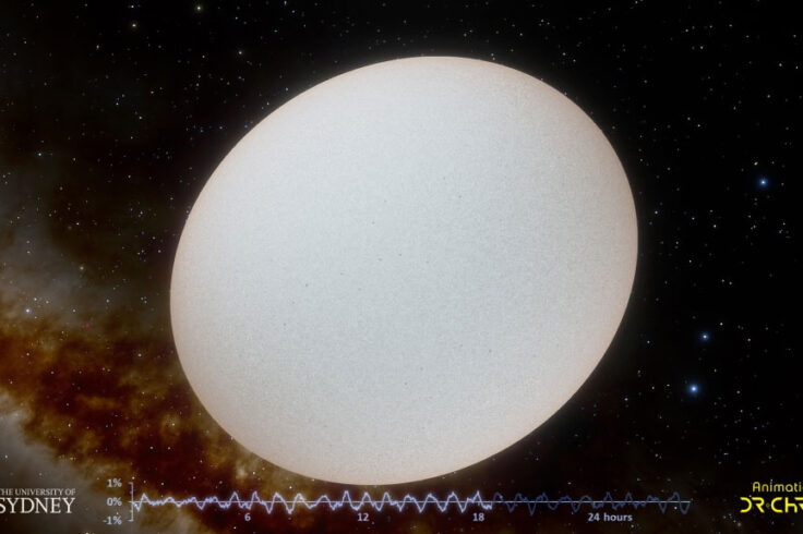 Delta Scuti star and light curve