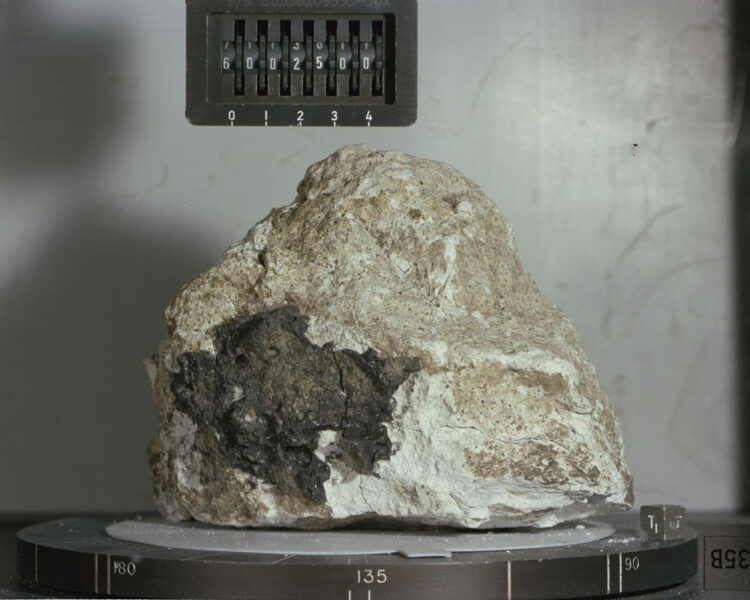 Ancient Moon rock