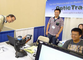 Optic Tracker demo at PATS 2011