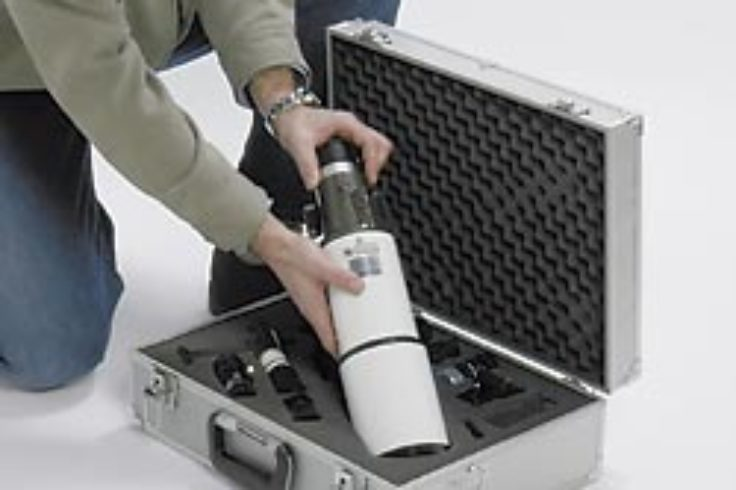 Scope in a travel case