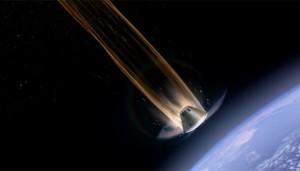 Orion reentry illustration