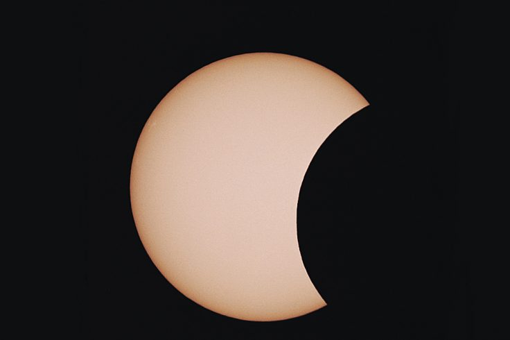May 1994's partial solar eclipse