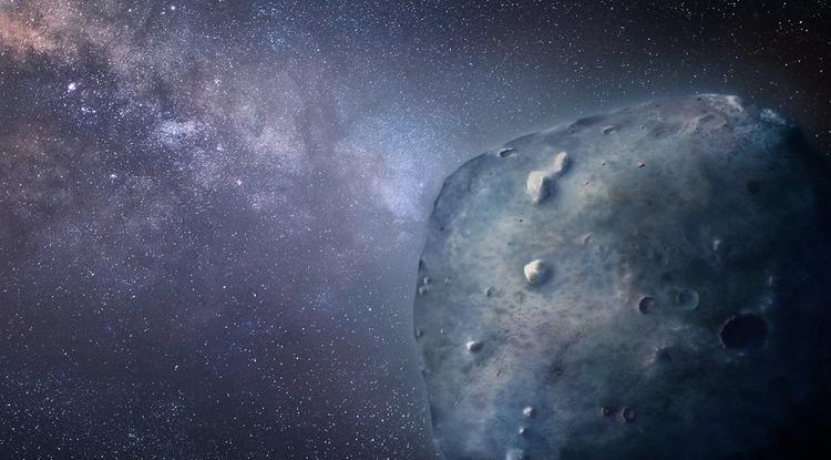 Asteroid illustration