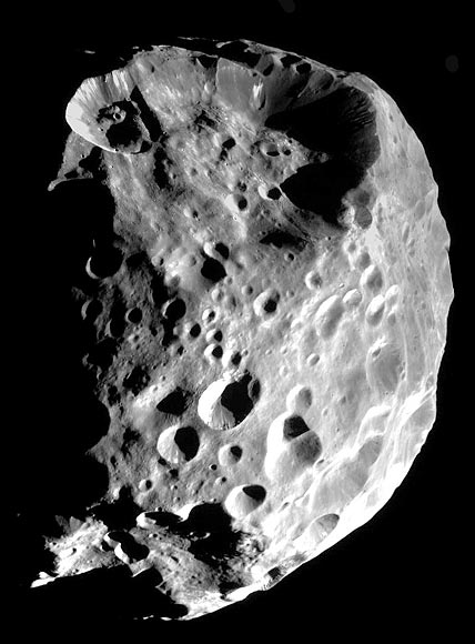 Saturn's distant moon Phoebe