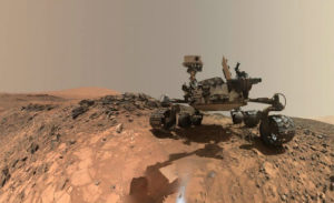 Picture of Curiosity on Mars