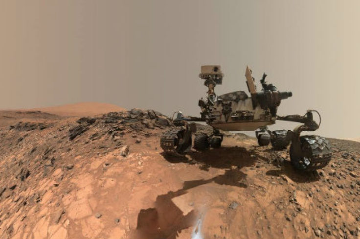 MSL rover