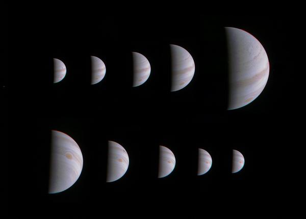 Juno approaches Jupiter