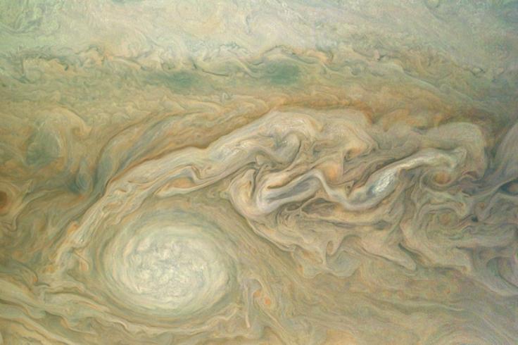 Jupiter white spot