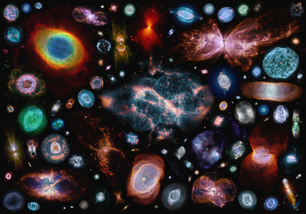 Planetary nebulae (mostly)