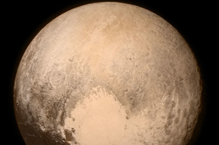 Pluto's heart, July 13th