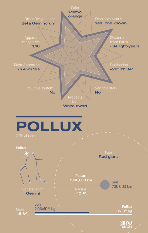 Meet Pollux, the Red Giant with a Planet