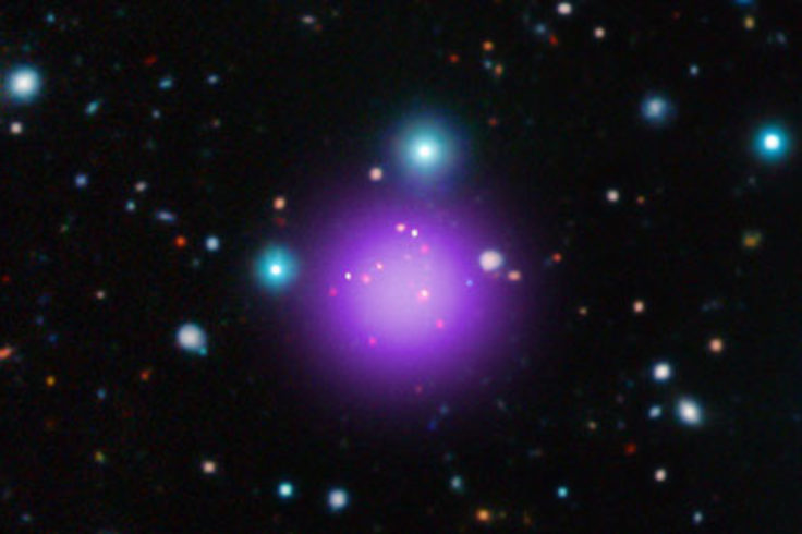 Galaxy cluster CL J1001+0220