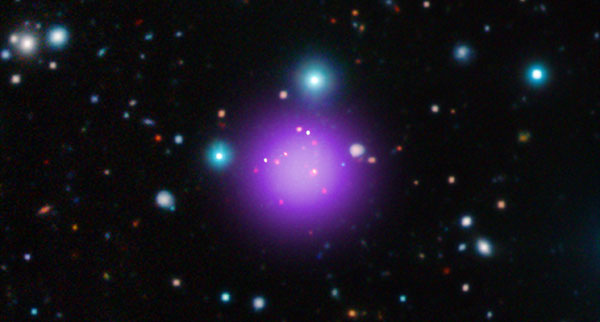 Galaxy cluster CL J1001+0220