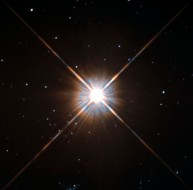 Hubble image of Proxima Centauri, the closest star to the Sun. NASA
