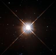 Hubble image of Proxima Centauri, the closest star to the Sun. NASA