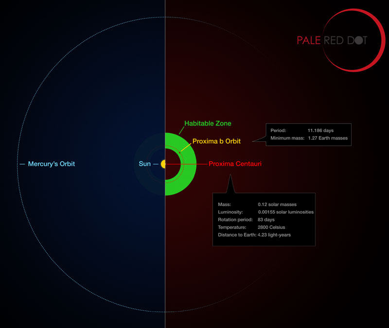 Exoplanet found around proxima centauri sky telescope orbit of proxima centauri b ccuart Gallery