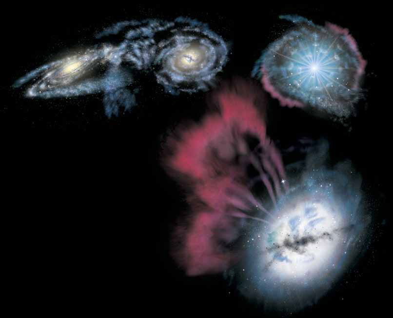 Free Article: A Quasar in Every Galaxy? By Rob Irion