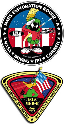 Rover mission patches