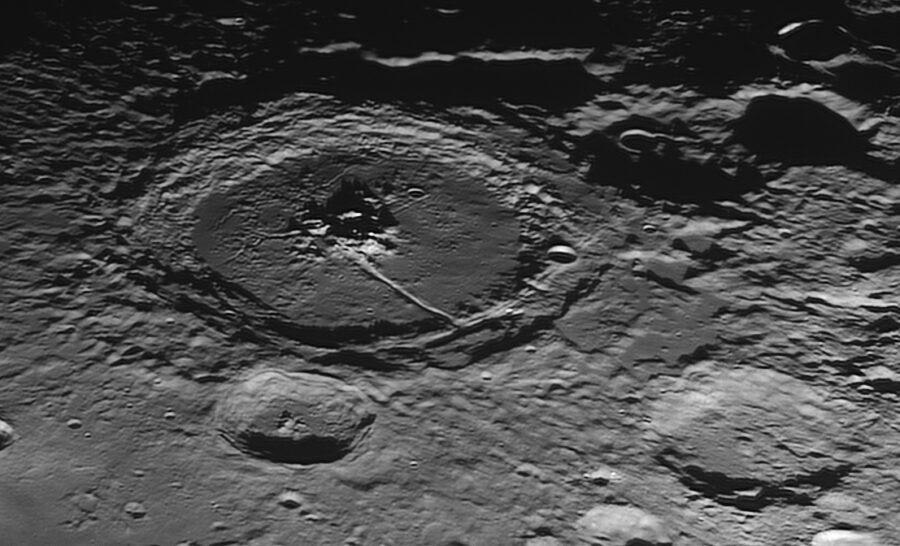 The crater Petavious