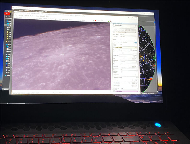 Lucy imaging setup
