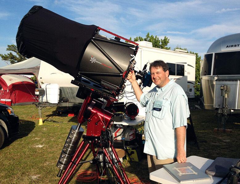 Godzilla sized telescope