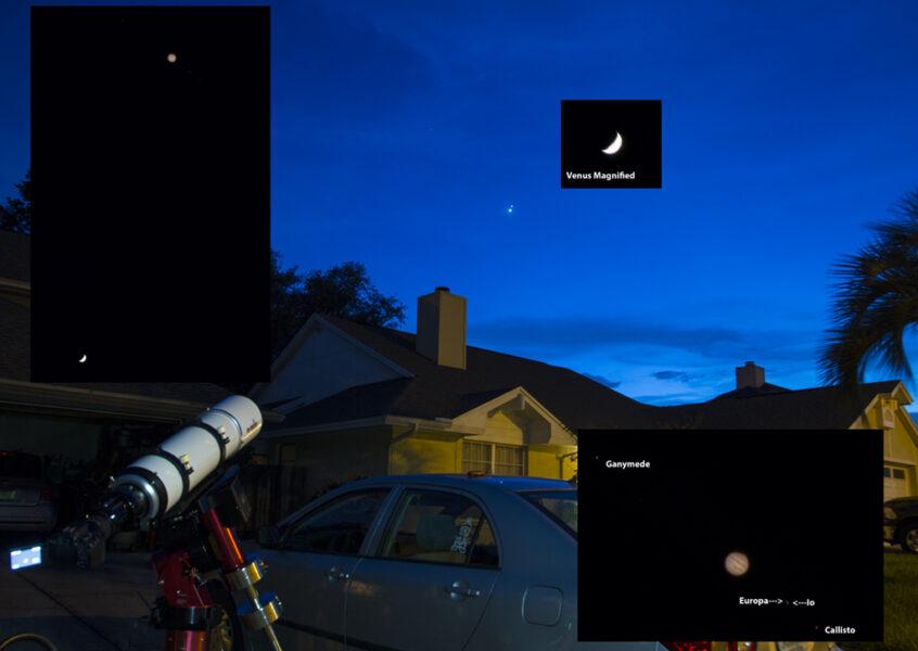 Image of scope setup
